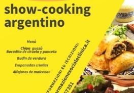 """Ultime ore per iscriversi allo Show-cooking Argentino: """"SAPORI E SAPERI, DIALOGO IN CUCINA""""Pedrengo 12 Aprile ore 18,30"""