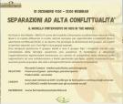 Separazioni ad alta conflittualità – webinar 10 dicembre 2020