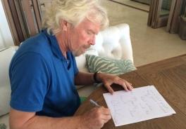 """""""La dislessia mi ha aiutato tanto nella vita"""" – Richard Branson scrive a una bambina dislessica di 9 anni"""