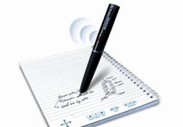 Appunti smart, se la penna scrive e registra!